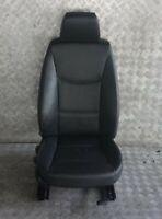 BMW 3 Lui E90 E91 Riscaldamento Sedile Anteriore Destro Sedile pelle Nera