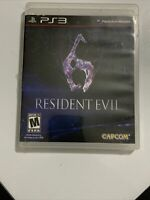 Resident Evil 6 (Sony PlayStation 3 PS3, 2012)
