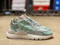 Adidas Originals Nite Jogger Boost Womens Shoes Ice Mint White F33837 NEW Sz 5.5
