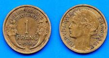 France 1 Franc 1938 Laureate Free Ship World Francs Frcs Frc Cent Cents