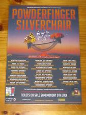POWDERFINGER SILVERCHAIR - Across Great Divide Australian Tour- Laminated Poster