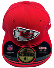 Kansas City Chiefs NFL New Era 59FIFTY Size 6 1/2 Fitted Hat Brand New