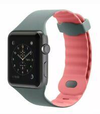 Brand NIB Belkin Sport Band for Apple Watch 42mm Gray/Pink Bracelet Armband