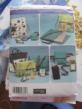 simplicity sewing pattern 4391 COMPUTER AND GADGET ORGANIZERS