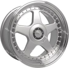 "17"" DR-F5 alloy wheels special order 7.5x17 4x100 x 2 + 8.5x17 5x120 x 2"