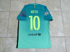 Messi Barcelona Shirt Jersey Match Un Worn Player Issue Uefa Champions League
