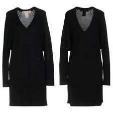 NWT Marni Black Virgin Wool Silk Dress sz M US 8 IT 44 Made in Spain Authentic