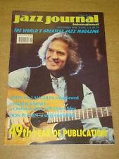 JAZZ JOURNAL INTERNATIONAL VOL 49 #11 1996 NOVEMBER JOHN MCLAUGHLIN DON PULLEN