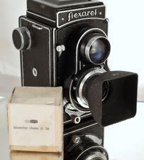 Flexaret Meopta Shade Hood Ø 30 Lens Hood for Flexaret  II - V Never Used + Box