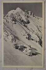 """CPA """" Bayerische Zugspitzbahn - Hôtel Schneefernerhaus"""