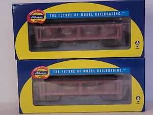 Athearn HO ATH14584 Green Bay Foods 40'Pickle Car Pack 2