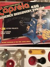 Vintage Capsela 450 Set Science Discovery System 1978 3D Project