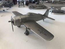 Nib Danbury Mint Fine Pewter Grumman Hellcat Us Fighter Plane 1:82