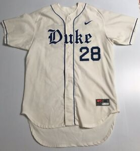 Duke Nike Authentic Baseball Jersey Team Issue Size 48 Player #28 Team Issue?