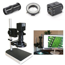16mp 1080p Hdmi Hd Digital Microscope Industry Camera Zoomable Lens Withstand 180x