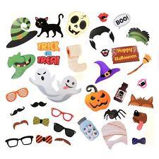 35pc Halloween Photo Booth Selfie sostegni Dolcetto o Scherzetto Party Game Favori Decor