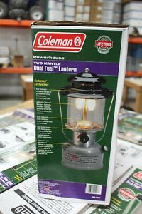Vintage New Box Unfired Coleman 295-700G Powerhouse Dual Fuel Lantern