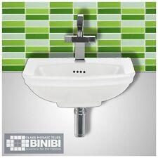 BRICK Rectangular Glass Mosaic Tiles Bathrooms Kitchens Wall Floors SALE! 4B-106