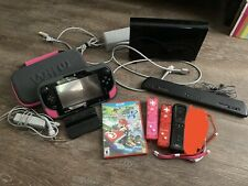 Wii U 32 GB Console Bundle w/ Mario Kart 8, Wii Controllers, and More!