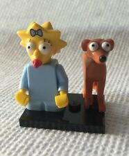 Lego Maggie Simpson Minifig Simpsons Series 2 #4 Baby Santa's Little Helper Dog