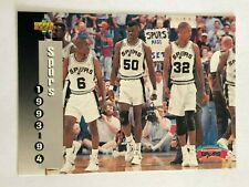 Card David Robinson UPPER DECK '93-94 SPURS #233