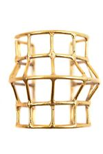 Anndra Neen Women's Medium Cage Bracelet Gold
