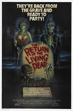 """THE RETURN OF THE LIVING DEAD  Movie Poster [Licensed-New] 27x40"""" Theater Size"""