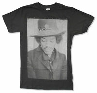 Jimi Hendrix Just Jim Charcoal Grey T Shirt New Official