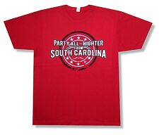 """JASON ALDEAN """"PARTY ALL NIGHTER"""" RED T-SHIRT COUNTRY NEW OFFICIAL ADULT LARGE XL"""