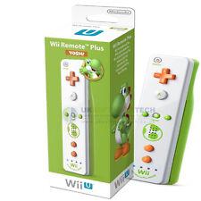 Nintendo Wii & Wii U Manette Motion Plus Yoshi (édition limitée)