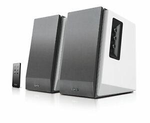 B-WARE Edifier R1700BT WS 2.0 Lautsprechersystem White Bluetooth Aktiv PC Boxen