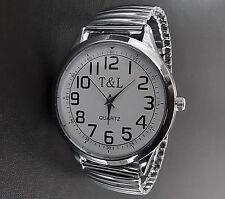 Markenlose runde Unisex Armbanduhren aus Edelstahl