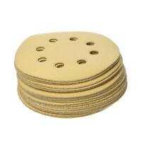 20PCS 5'' Sandpaper for Orbital Sander Sanding Discs Pads  400#