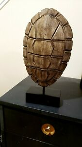 Turtle Shell Home Decor On Stand