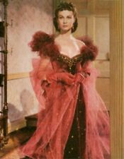 Gone With The Wind Print Nothing Modest Will Do Scarlett In The Red Dress