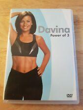 Ref 77 - Davina Power Of 3 DVD - Fitness / Health DVD