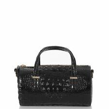 Brahmin Black Claire Melbourne Leather Bag shoulder Purse New