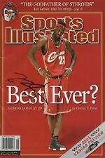 LeBron James Sports Illustrated Autograph Replica Poster - Best Ever?