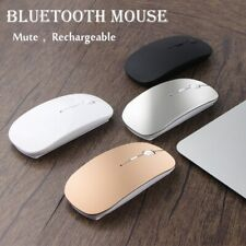 Rechargeable Bluetooth Mouse For Apple Macbook Xiaomi Huawei Laptop Computer New