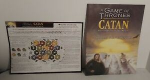RULES & GAME OVERVIEW REPLACEMENT PART ONLY for Catan A Game Of Thrones  2017