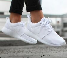New NIKE Roshe Run One Casual Athletic Sneakers Mens triple white all sizes