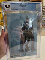 CGC 9.8 Batman #100 CGC 9.8 DC 2020. Jorge Jimenez 1:25 Ratio Variant