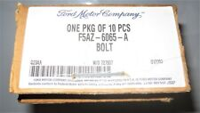 FORD OEM-Engine Cylinder Head Bolts - Part# F5AZ-6065-A - Box of 10 - Brand New