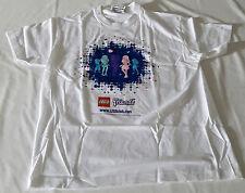 LEGO® Club Friends T-Shirt Weiß mit Motiv, Kinder Größe XS Neu limitiert selten