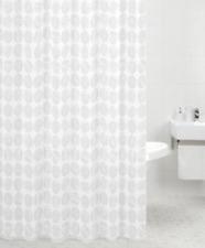 Sabichi Carrara  Modern Shower Polyester Curtain Including Hooks 180cm    5189