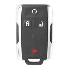 New Replacement Remote Key Shell Case Fob 4B for Chevrolet Silverado Chrome Edge
