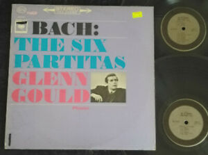 BACH  Glenn Gould ‎– The Six Partitas 2 x LP  Columbia Masterworks ‎– M2S 693