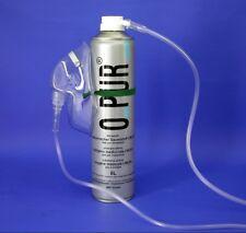 O_PUR Sauerstoff 8 Liter (2,10€/l) Dose mit Sauerstoff- Maske und Schlauch O-Pur