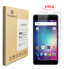 Ytaland 2Pcs Tempered Glass Film Screen Protector For BLU Cell Phone