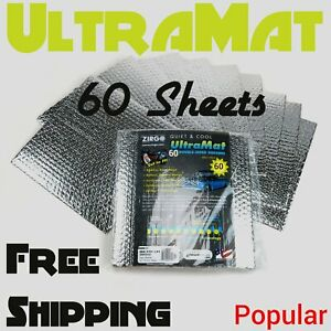 1978 - 1982 Mercury 60 SqFt UltraMat Heat & Sound Barrier 60 12 x 12 Tiles xl